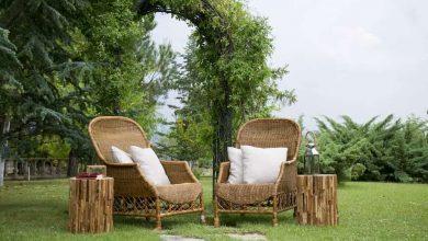 muebles de bambu para terrazas